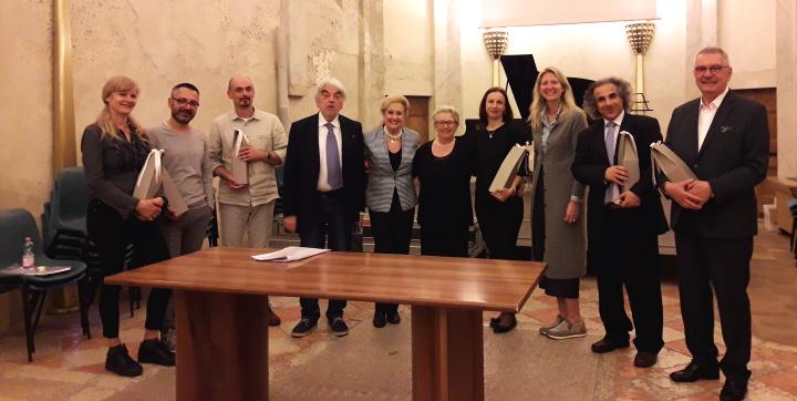 Gaulitana's artistic director at the Concorso Citta`di Bardolino