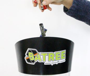 Record number of batteries for recycling in first year of Batree campaign