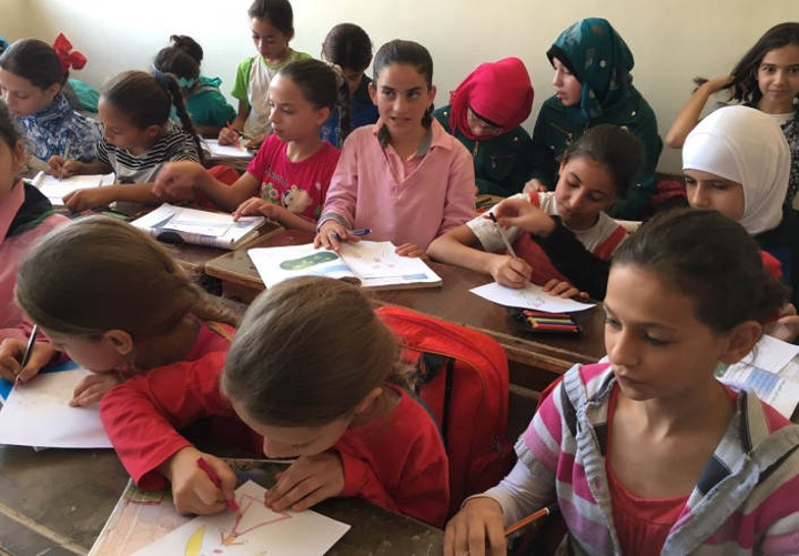 Gozitan schoolchildren helping Syrian children attend school