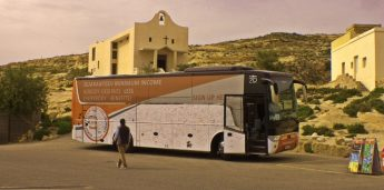 EMIN Bus visits Gozo promoting an adequate minimum income for all