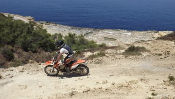 Gozo Enduro Rally challenges riders in heat and a tough terrain
