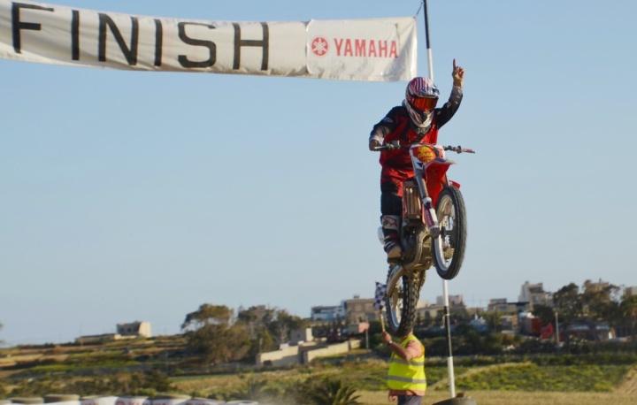 Steve Xuereb crowned champion of Gozo Motocross Championship