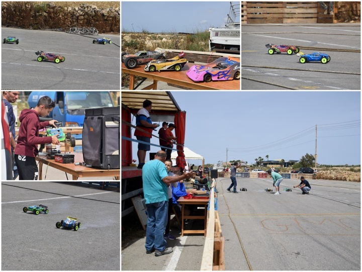 Gozo Model Car Association off-road event today for Gozo Alive