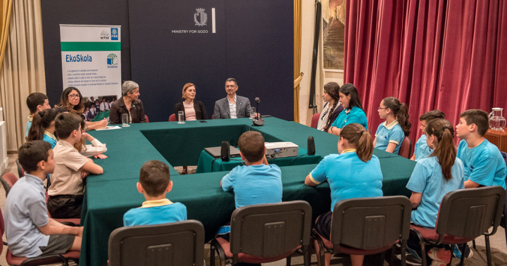 Gozo Minister meets with Regional EkoSkola Committee for Gozo