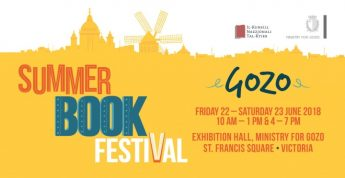 Summer Book Festival returns to Gozo for second year running