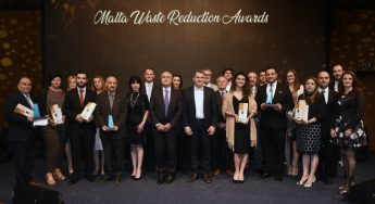 Gozo winners in this year's Malta Waste Reduction Awards