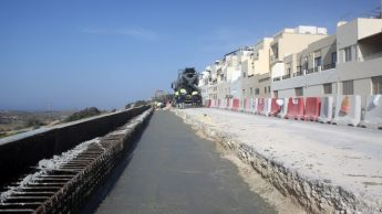 Work on rebuilding of Mellieha bypass to be completed by start of summer