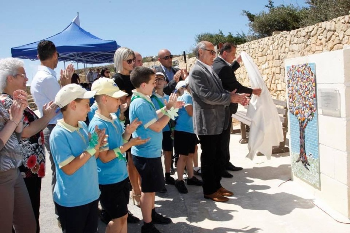 Trees Are Us Garden by students of Gharb Primary inaugurated