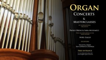 Organ concerts and Masterclass this weekend in Gozo