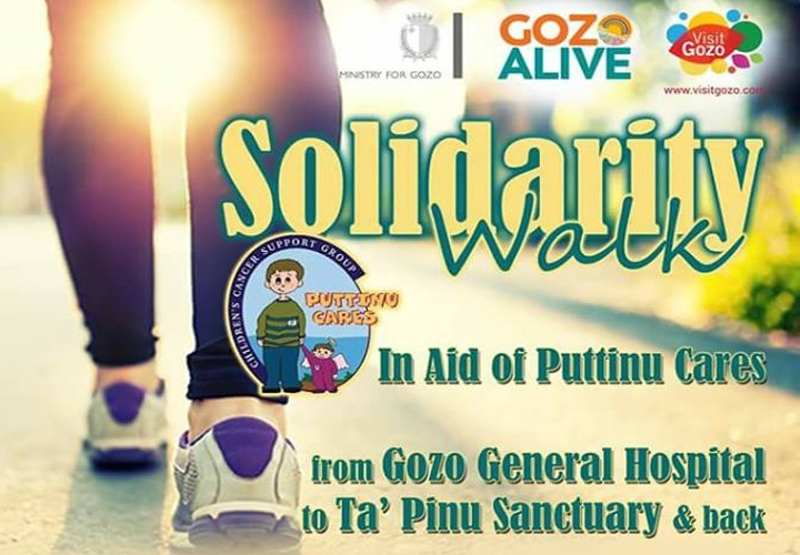 Puttinu Cares annual Solidarity Walk next Sunday in Gozo