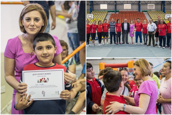 Sports on the Move Gozo winter programme for children comes to a close