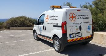 First Wildlife Rescue Ambulance launched for Nature Trust Malta