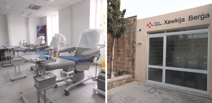 National Blood Transfusion Service donation session in Gozo