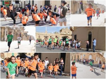 Athletics fun run enjoyed by the many young participants