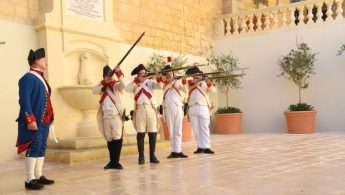 Relive Gozo's history through reenactment of the French invasion