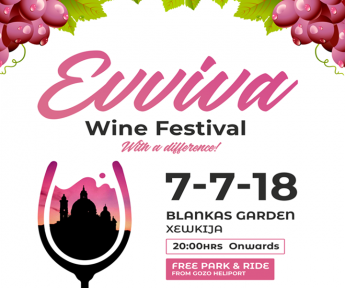 Evviva: Wine Festival with a Difference at Blankas Garden, Xewkija