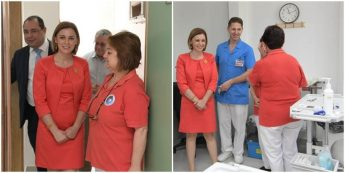 Gozo Minister visits Xewkija Centre for World Blood Donor Day