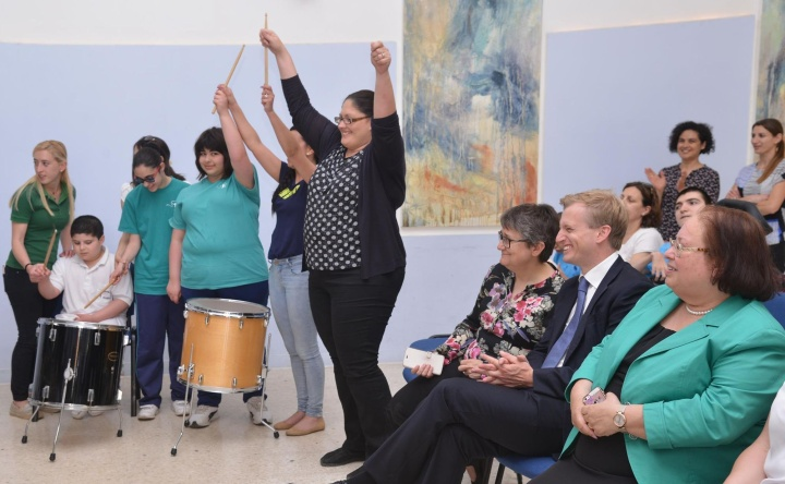 The magic of music donated to the Sannat Special Unit