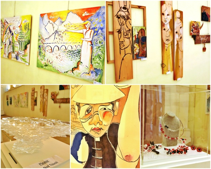 Inspired in China - Fine Art Exhibition in Gozo by Maltese artists