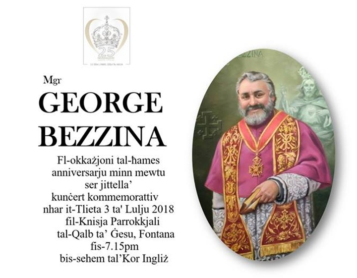 UK choir in commemorative concert for Mgr George Bezzina