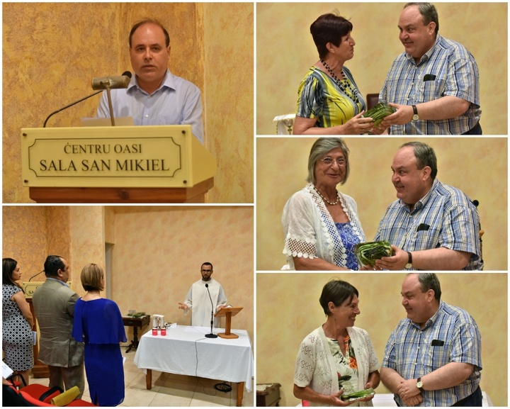 Noel Xerri takes over from Fr Cordina at the OASI Foundation