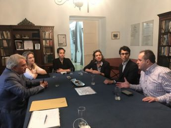 Meeting with Partit Demokratiku on `Our Legacy - Wirtna'