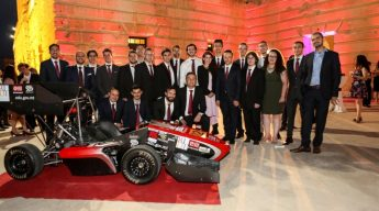 Formula student race car from Malta for Silverstone 2018