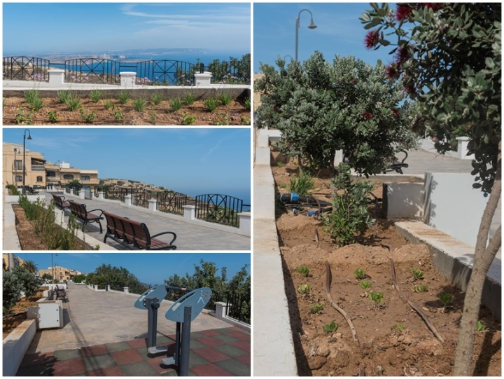 Qala Local Council gives the belvedere a revamp and new plants