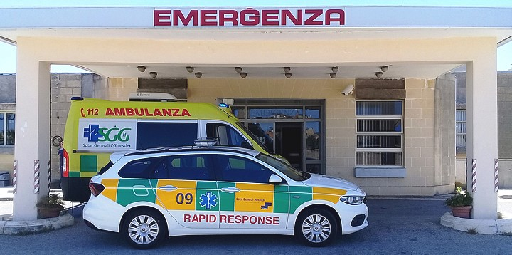 Elderly Gozitan woman seriously injured after being hit by car