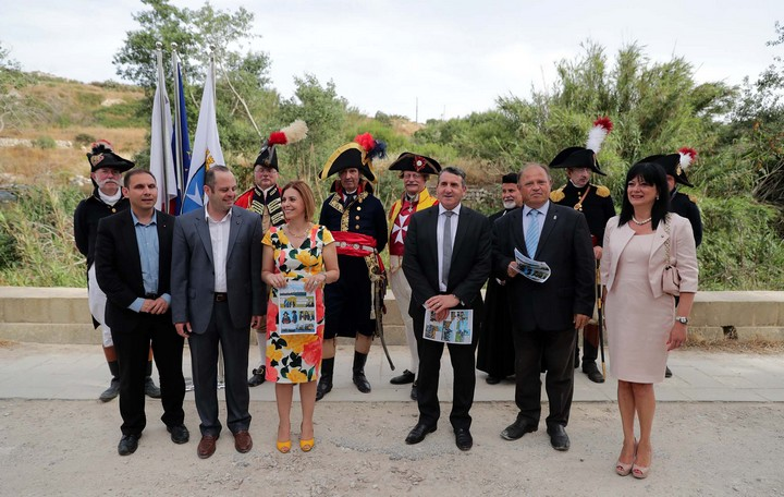 Gozo relives its past with the French invasion reenactment