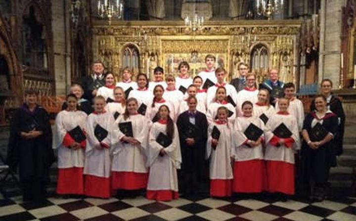 Rossall School Chapel Choir in Gozo commemorative concert