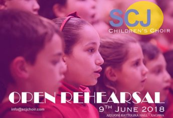 Open rehearsal for children with SCJCC this Saturday in Xaghra
