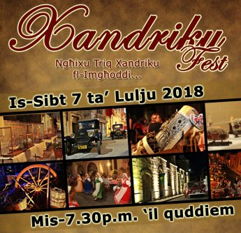 Take a journey through history in Nadur with Xandriku Fest