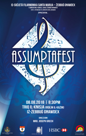 AssumptaFEST with the Saint Mary Philharmonic Society of Zebbug