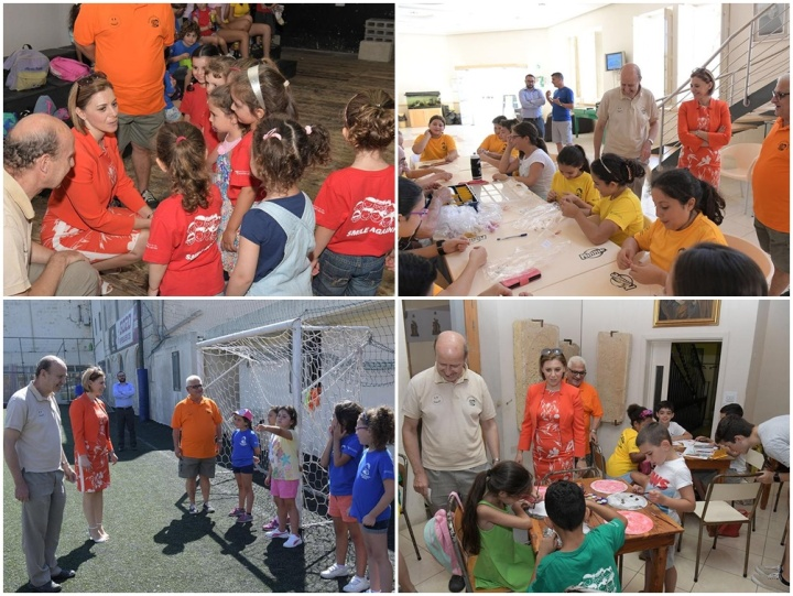 Gozo Minister visits activities at the Don Bosco Oratory Summer Club