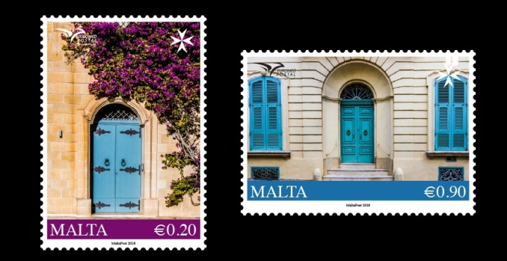 Houses in the Mediterranean feature on MaltaPost stamps