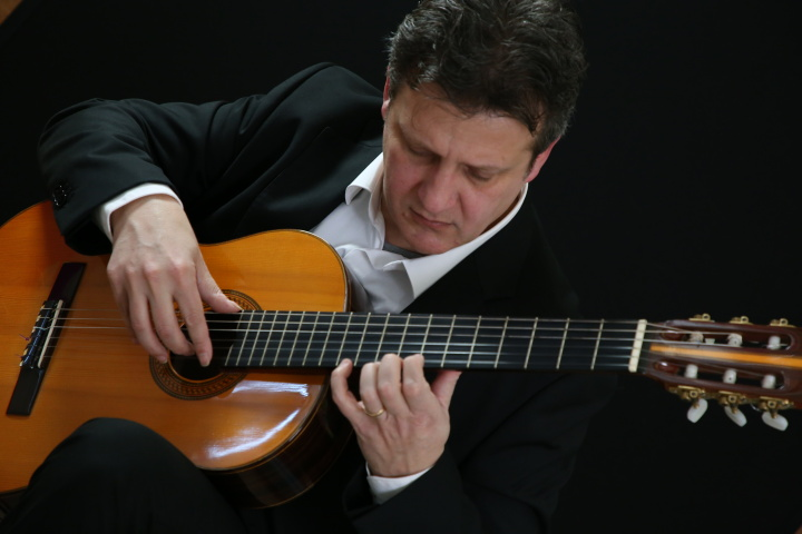 Guitar recital by Italian guitarist Fabio Barbagallo at St Cecilia Chapel