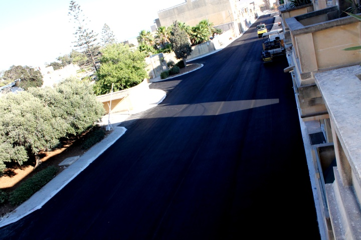 Ghajn Qatet Street in Victoria is now better than ever before
