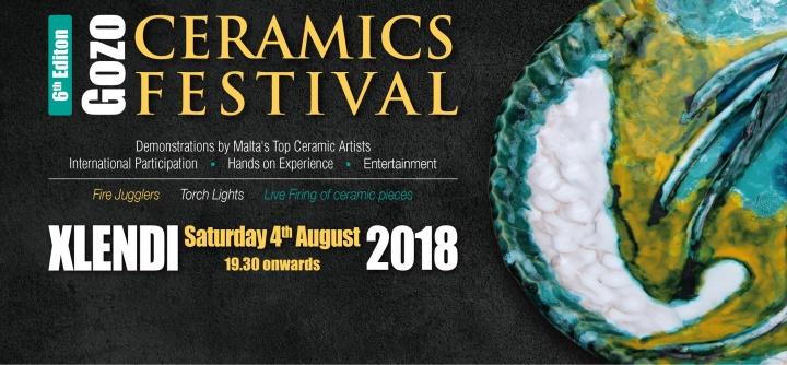 Visit Xlendi next Saturday evening for Gozo Ceramics Festival 2018