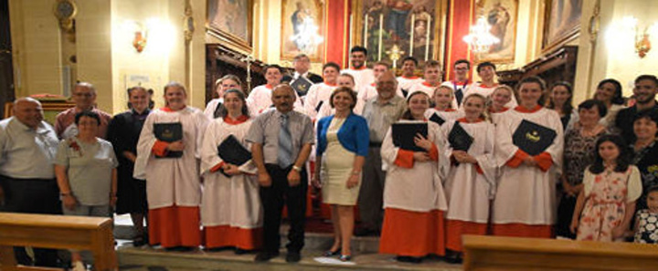 Rossall School Chapel Choir in two concerts of sacred music