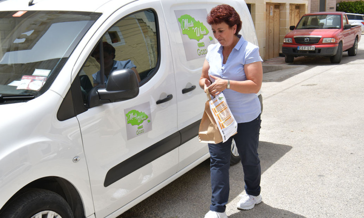 Improvements for the Meals on Wheels service in Gozo