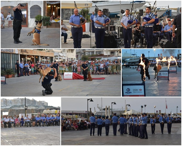Gozo commemorates Police Day 2018 with activities in Marsalforn