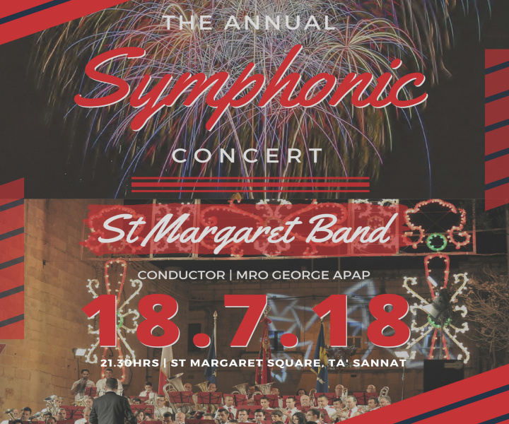 St Margaret Band of Sannat Annual Symphonic Band Concert