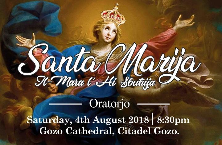 Oratorio-Concert with the Fondazzjoni Santa Cecilja of Gozo