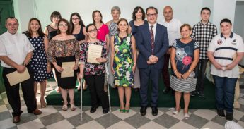 Sixteen people graduate in Gozo course for Maltese sign language