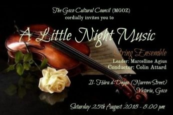 Enjoy A Little Night Music - Open-air classical concert this Saturday