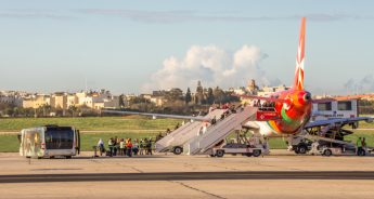 27% more passengers carried by Air Malta in July