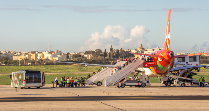 Injunction filed by Air Malta against the pilots' union