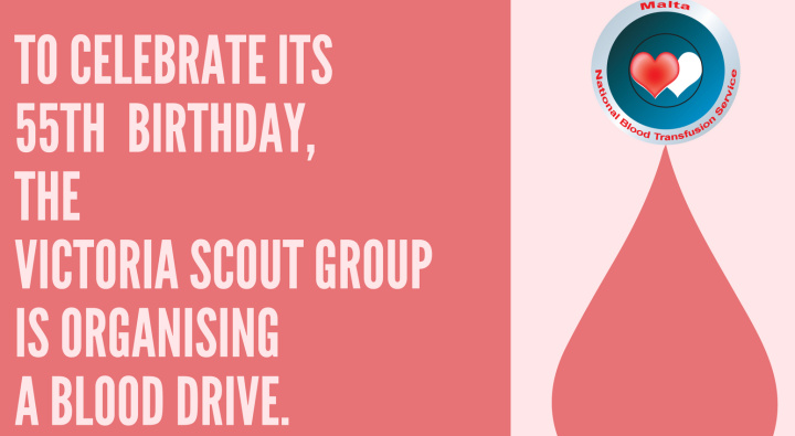 Victoria Scout Group celebrates 55th birthday with a Blood Drive