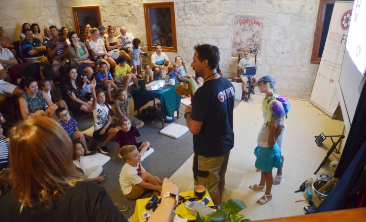 Children have fun with the art of filmmaking at Gozo Film Festival